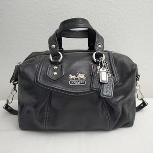 NEW COACH Leather Ashley Satchel Bag